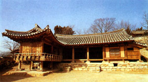 Le case tradizionali coreane sono generalmente esposte a Sud, per ...