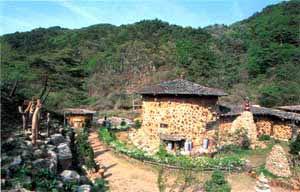 Case Di Legno E Mattoni : Corea un nuovo stile per la case di terra e legno
