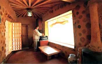 Case Di Tronchi Di Legno : Corea un nuovo stile per la case di terra e legno