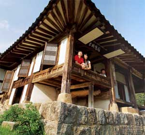 Corea case tradizionali for Case tradizionali