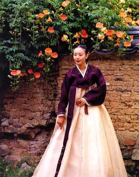 Corea abiti tradizionali for Vestito tradizionale giapponese femminile