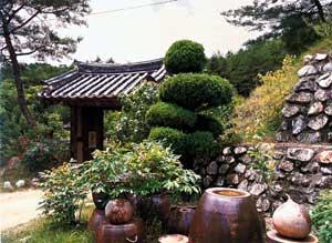 Corea antichi giardini for Abitazioni giapponesi