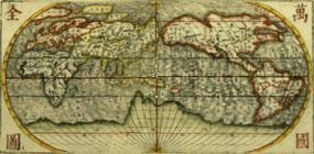 Cartina 1400.Corea Antiche Mappe