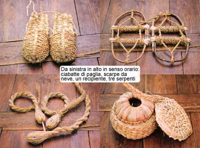 Ma nella società tradizionale moltissimi oggetti erano fatti di paglia 9faef4e2c133